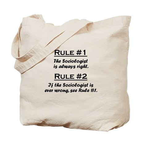 Sociologist Tote Bag
