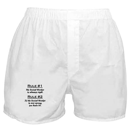 Social Worker Boxer Shorts