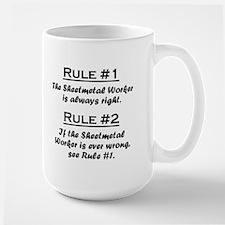 Sheetmetal Worker Mug