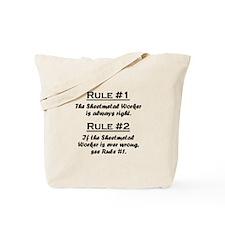 Sheetmetal Worker Tote Bag