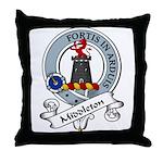 Middleton Clan Badge Throw Pillow