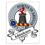 Middleton Clan Badge Small Poster