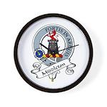 Middleton Clan Badge Wall Clock
