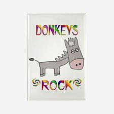 Donkey Rectangle Magnet
