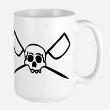 Scull and Oars Large Mug