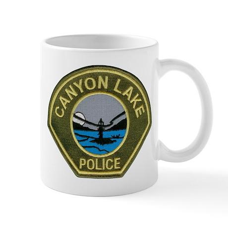 Canyon Lake Police Mug