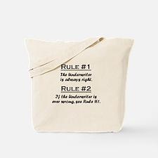 Underwriter Tote Bag