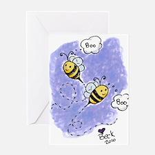Boo Bees Greeting Card
