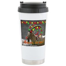 Helaine's Rudolph the What? Travel Mug