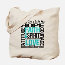 PCOS Can't Take My Hope Tote Bag