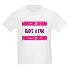 Dad's #1 Fan T-Shirt