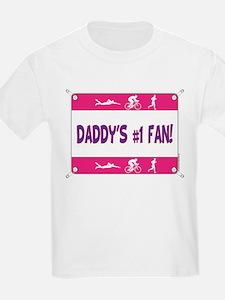 Daddy's #1 Fan T-Shirt