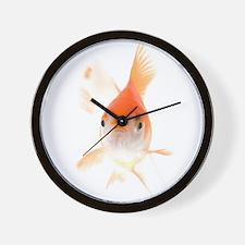 Cute Gold fish Wall Clock