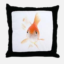Unique Gold fish Throw Pillow