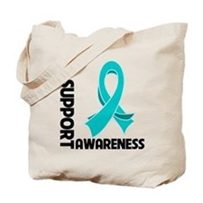 PCOS I Support Awareness Tote Bag