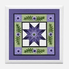 Cute Quilters Tile Coaster