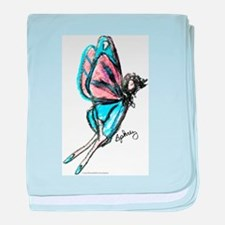Butterfly Fairy baby blanket