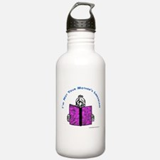 Funny Librarian Water Bottle