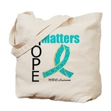 PCOS Jeweled Hope Matters Tote Bag