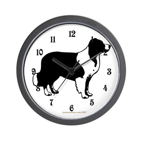 Border Collie Design & Mottif Wall Clock