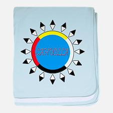 Cahuilla baby blanket