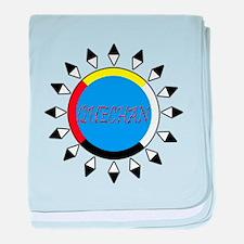 Quechan baby blanket