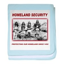 Homeland Security Native Pers baby blanket
