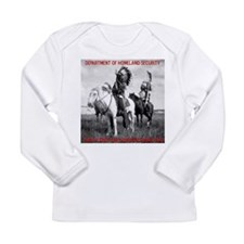 NDN Warriors Homeland Securit Long Sleeve Infant T
