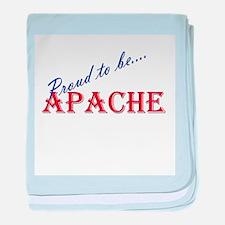 Apache baby blanket