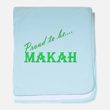 Makah baby blanket
