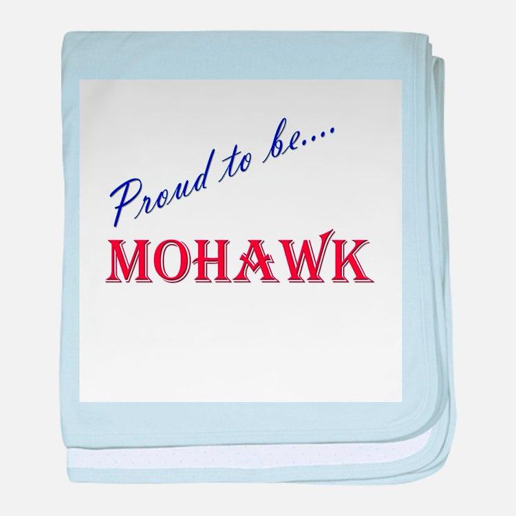 Mohawk baby blanket