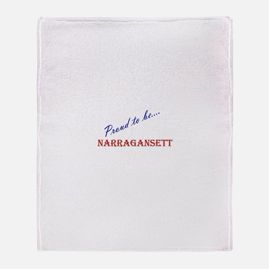 Narragansett Throw Blanket