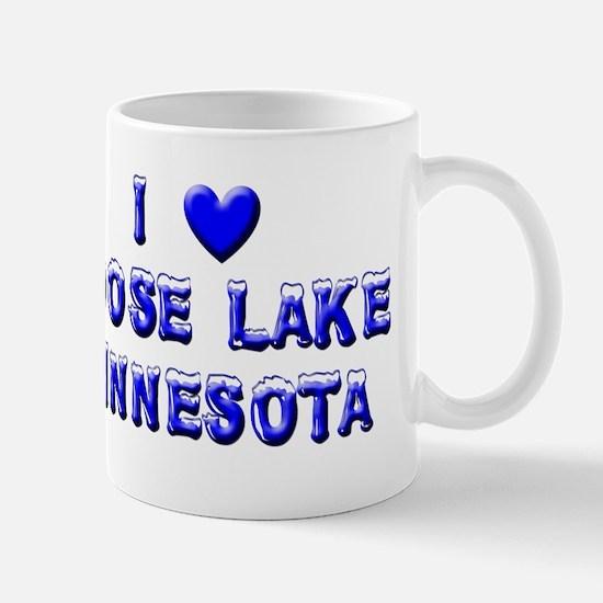 Moose Lake Winter Mug
