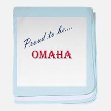 Omaha baby blanket