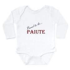 Paiute Long Sleeve Infant Bodysuit