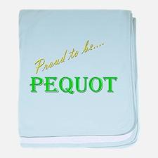 Pequot baby blanket