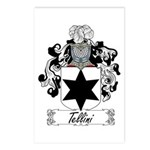 Tellini Family Crest Postcards (Package of 8)