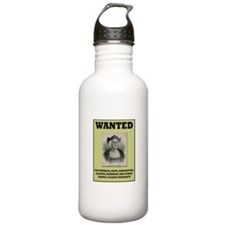 Columbus Wanted Poster Water Bottle