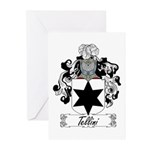 Tellini Family Crest Greeting Cards (Pk of 10)