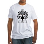 Tellini Family Crest Fitted T-Shirt