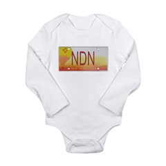 New Mexico NDN Pride Long Sleeve Infant Bodysuit