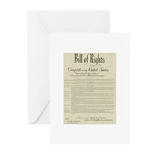 Bill of Rights Greeting Cards (Pk of 10)