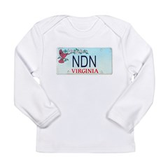 Virginia NDN Long Sleeve Infant T-Shirt
