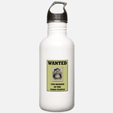 Columbus a Murderer Water Bottle
