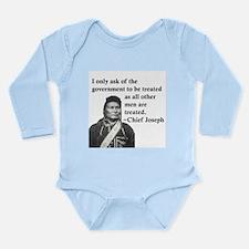 Equality Long Sleeve Infant Bodysuit