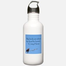 Crazy Horse Quote Water Bottle