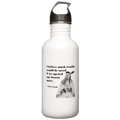 Open Hearts Stainless Water Bottle 1.0L