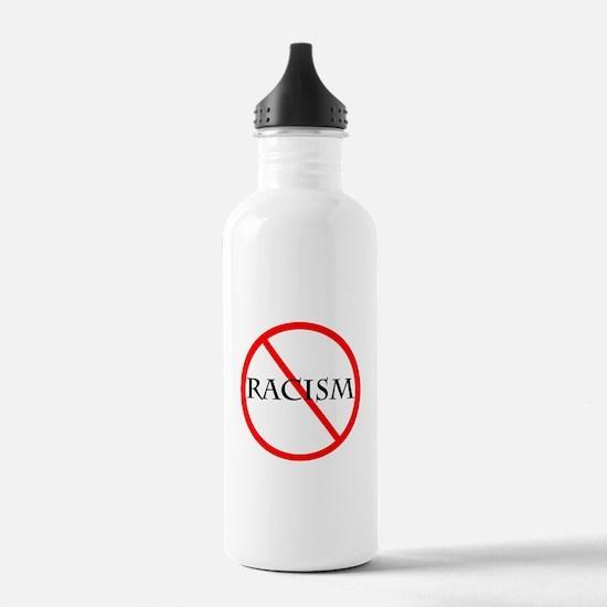 No Racism Water Bottle