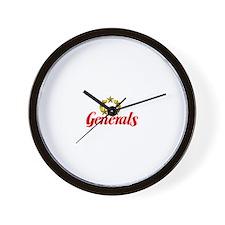New Jersey Generals Wall Clock