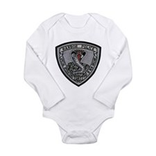 New Orleans Harbor PD SRT Long Sleeve Infant Bodys